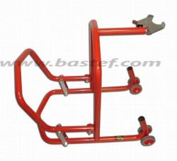 Professional front steering column paddock stand for DUCATI/MV
